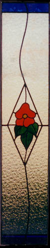 Floral Stained Glass Scottish Stained Glass