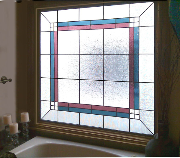 Translucent Bathroom Windows: Beautiful Stained Glass For Your Bathroom