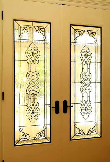Celtic Stained Glass Doors