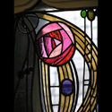 Charles Rennie Mackintosh Stained Glass Rose