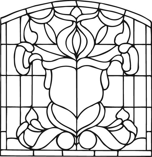 Custom Stained Glass Designs - Scottish Stained Glass