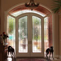 Denver Beveled Entryway Stained Glass  - DSG 2
