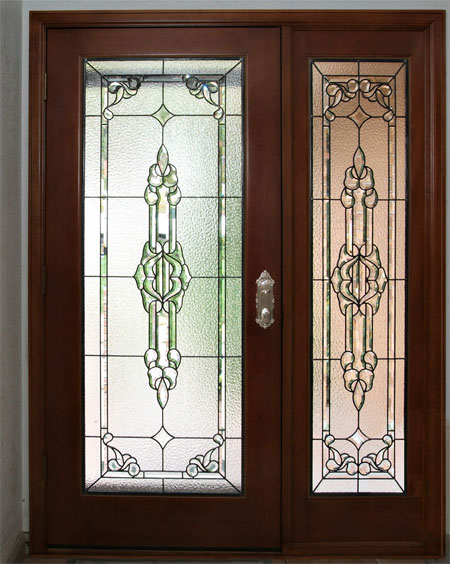 Glass Entry Doors With Side Lights : Custom stained glass for your doors