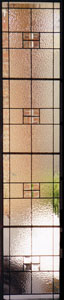Contemporary Stained Glass Sidelights - SGSL 3
