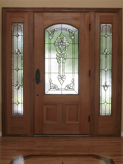 Salt Lake City Entryway U0026 Sidelight Stained Glass Windows