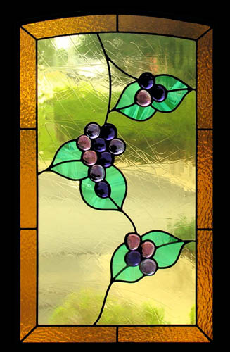 Stained Glass Cabinets For Your Kitchen