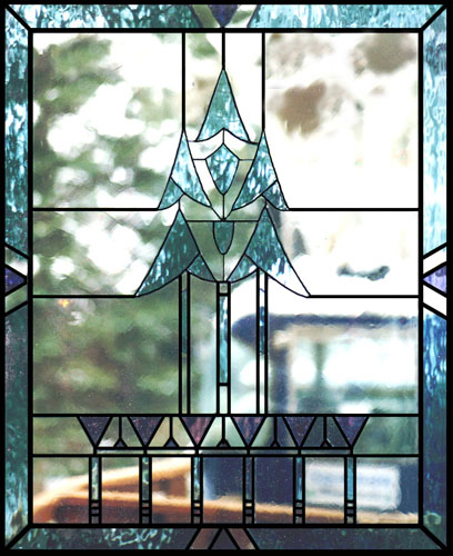 Kitchen Cabinets With Stained Glass: Scottish Stained Glass