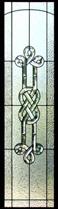 Stained Glass Celtic Sidelights - SGSL 6
