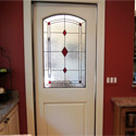 Stained Glass Diamond Interior Doors