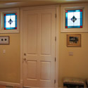 Stained Glass Square Sidelights