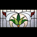 Floral Stained Glass Designs