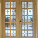 Stained Glass Interior Door Panels