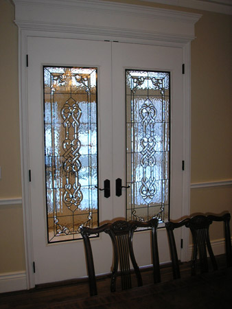 interior celtic stained glass doors - Glass Interior Doors