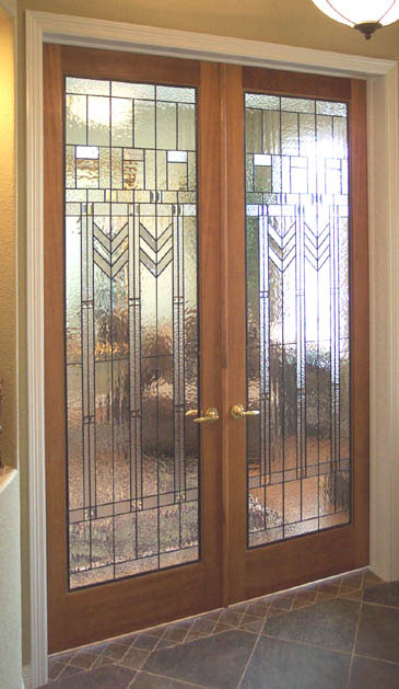 Good Art Deco Stained Glass Doors