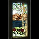 Stained Glass Tree Window