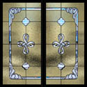 Traditional Celtic Stained Glass Style