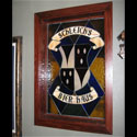 Basement Stained Glass Crest