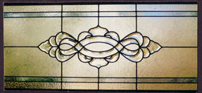 Custom Transom Stained Glass