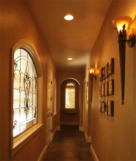 Hallway Stained Glass