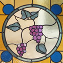 Religious Stained Glass Panels