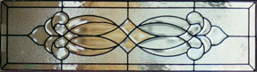 Traditional Stained Glass Transoms