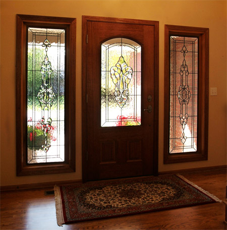 Stained Glass Entryway Los Angeles