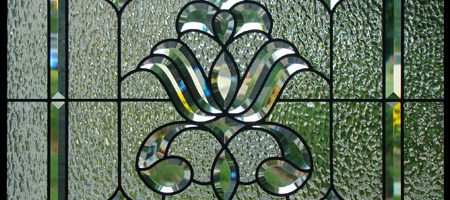 beveled stained glass windows