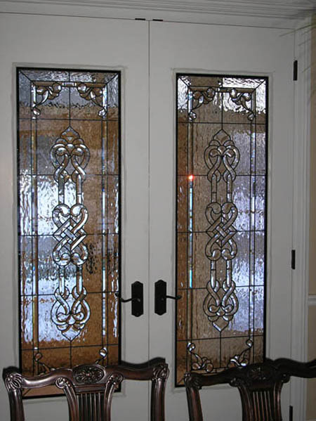 Celtic Entryway Custom Stained Glass