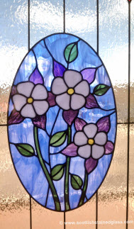 Floral Stained Glass
