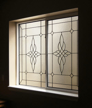 basement stained glass windows