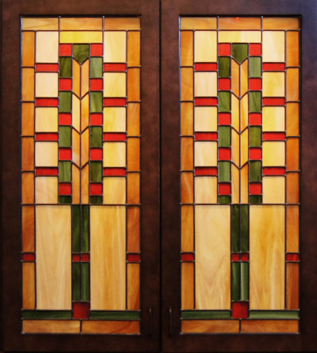 Stained Glass Kitchen Cabinet Doors Patterns: Scottish Stained Glass
